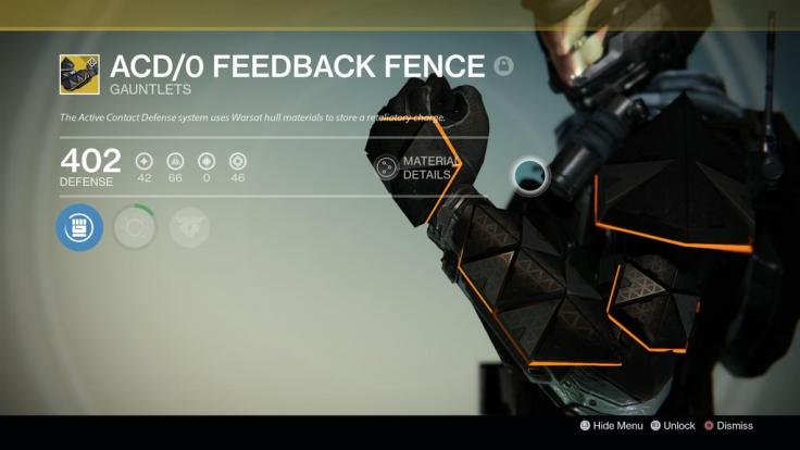ACDO Feedback Fence