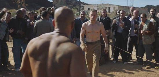 Jason Bourne Fight