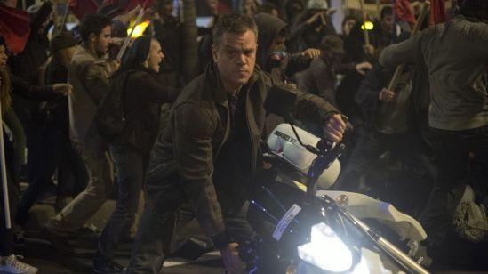 Jason Bourne Greece