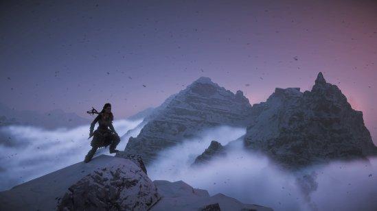 Horizon Zero Dawn Mountains